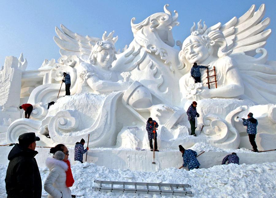 Harbin Ice and Snow Festival.