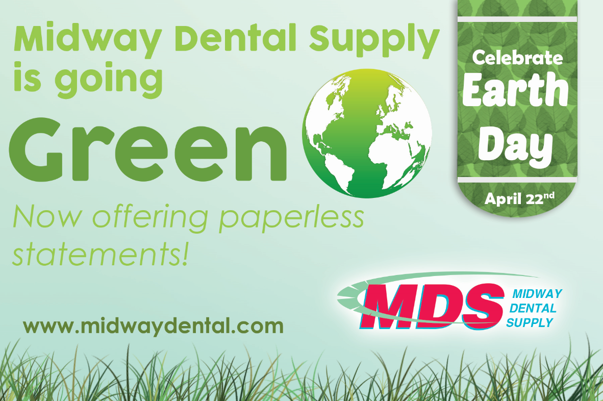 Midway Dental Supply is going green