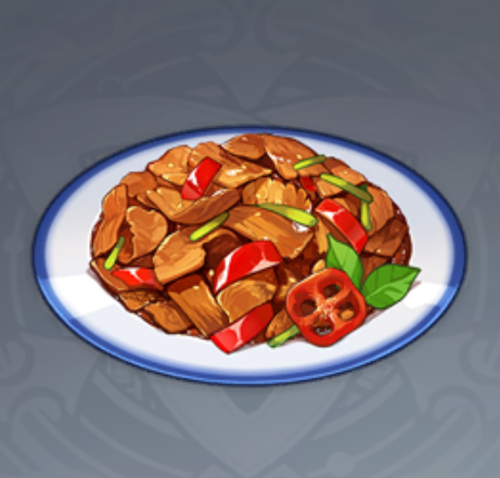 Thịt Xào Ớt Tuyệt Vân