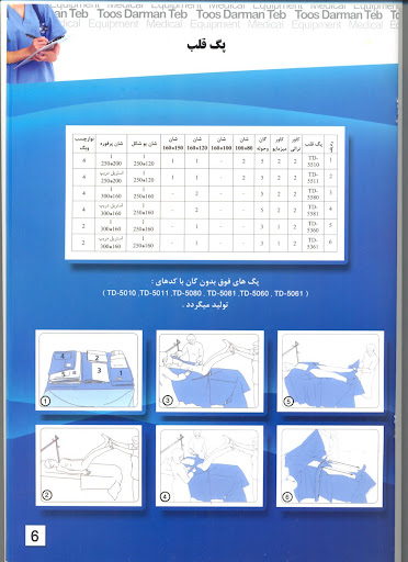 صفحه هفت کاتالوگ توس درمان طب