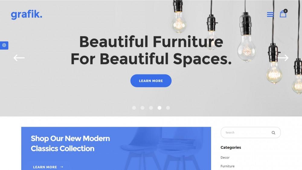 Grafik - Woocommerce furniture themes