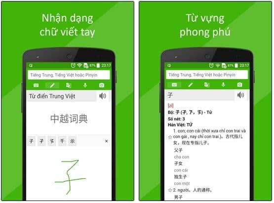 tính năng dịch thuật ngôn ngữ của Google dịch