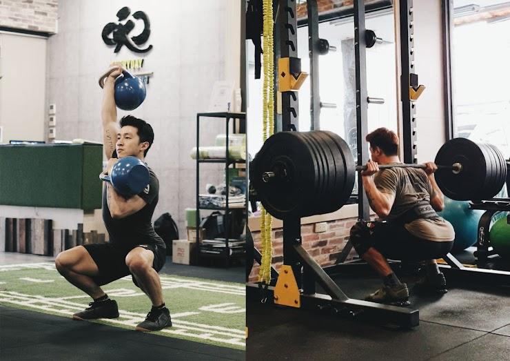 重量訓練、舉重、壺鈴、CROSSFIT、游泳