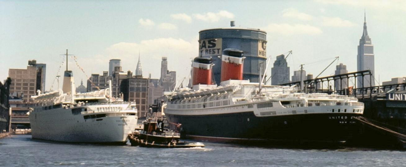 D:\Bill\Pictures\Tony92\Sep 20 2019\Ships Color Done\Unitedb States docked in NYC with the Victoria.jpg