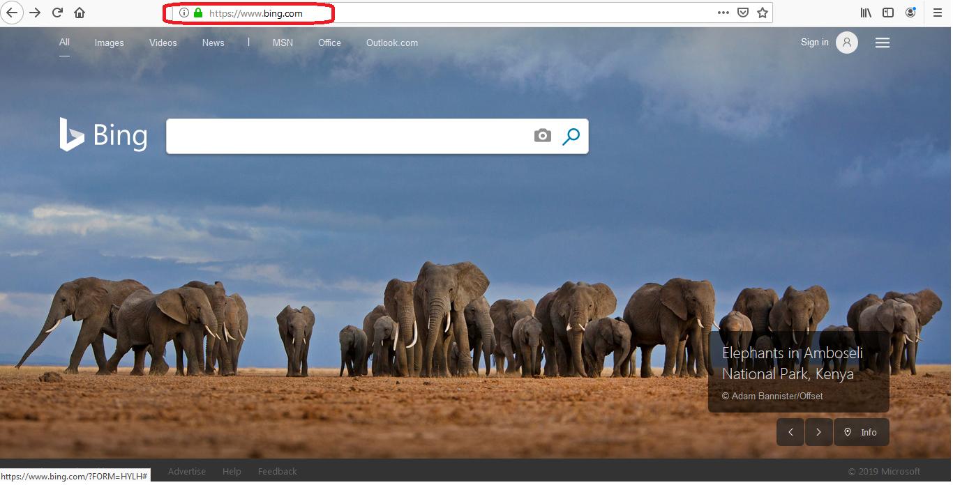 Bing Redirect Mac virus