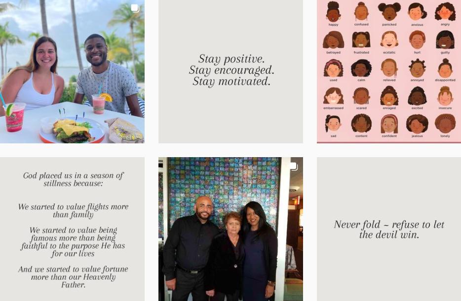 Makeba Giles | Motivational Instagram Posts | Instagrammers on Afluencer