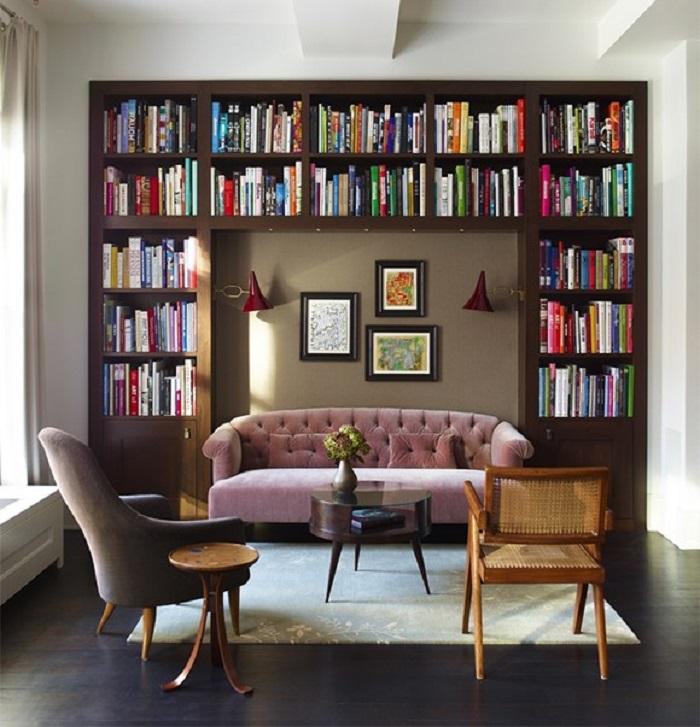 Thiết kế phòng đọc sách đơn giản