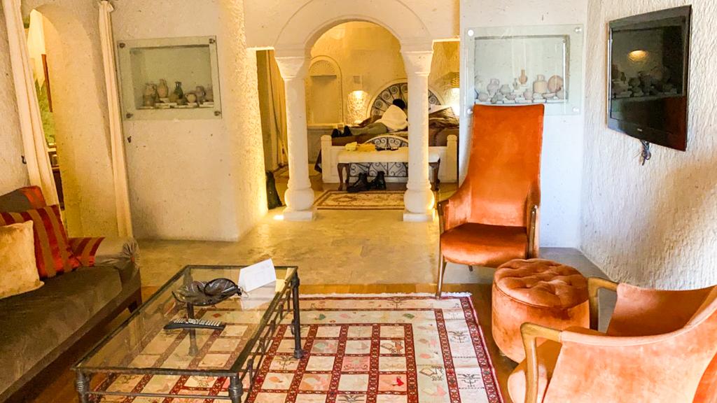 Anatolian Houses Cave Hotel bedroom
