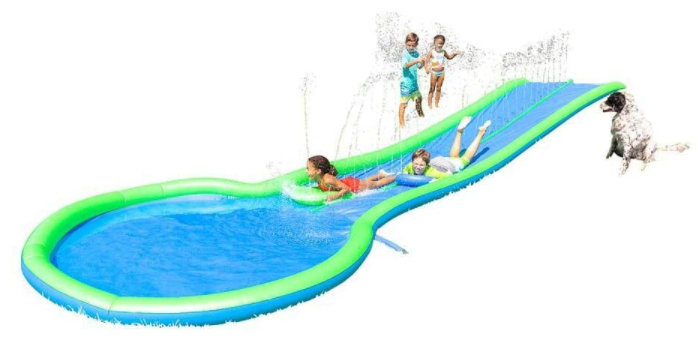 9. HearthSong Inflatable Water Slide