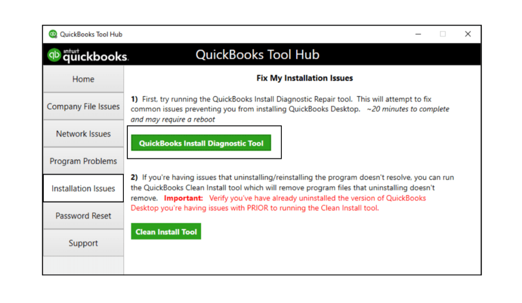 QuickBooks Install Diagnostic Tool - QB Tools Hub - Fixing Error 3371 In Quickbooks