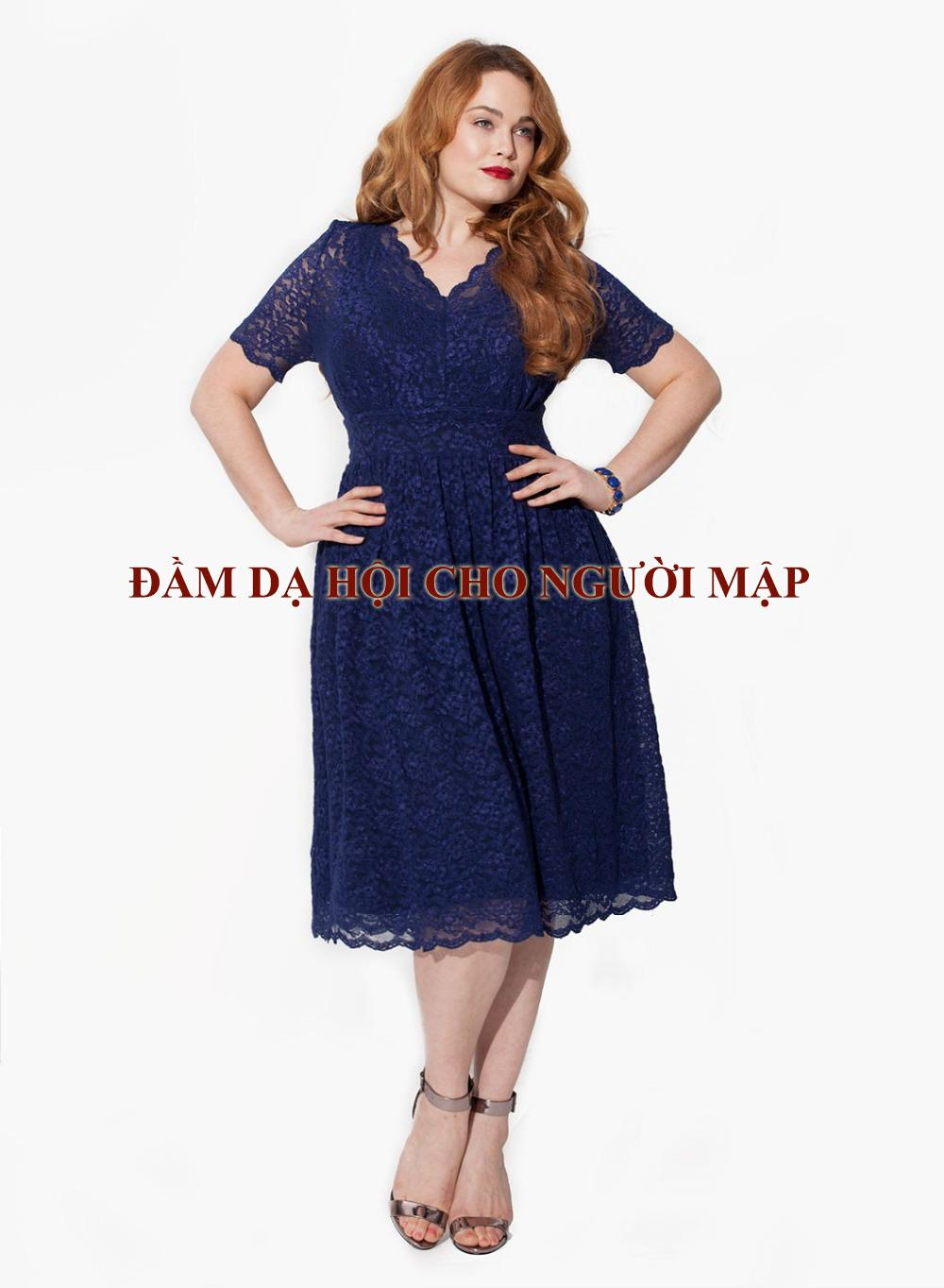 Đầm dạ hội cho người mập