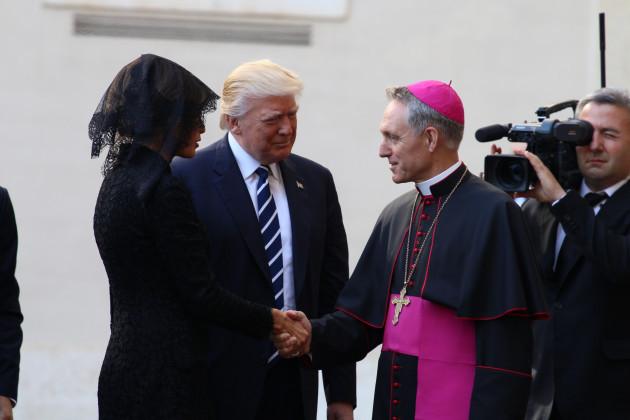 """Aleteia tháp tùng Đệ nhất phu nhân Melania Trump đến thăm Nhà Thương Nhi """"của Giáo hoàng"""""""