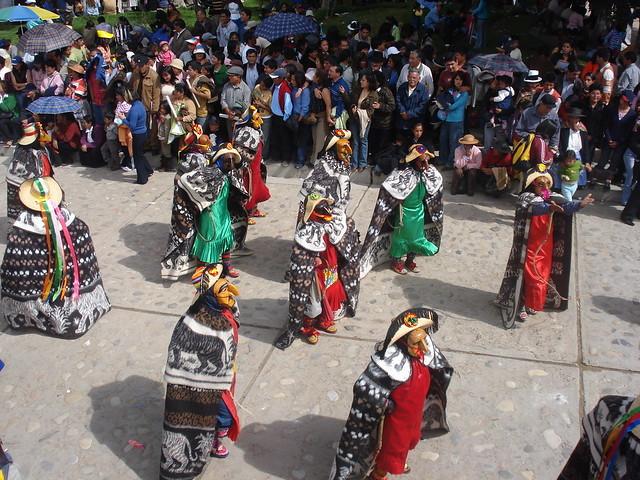 La fiesta de la Huaconada en Junín es uno de los destinos visitados por Turismo Raraz.