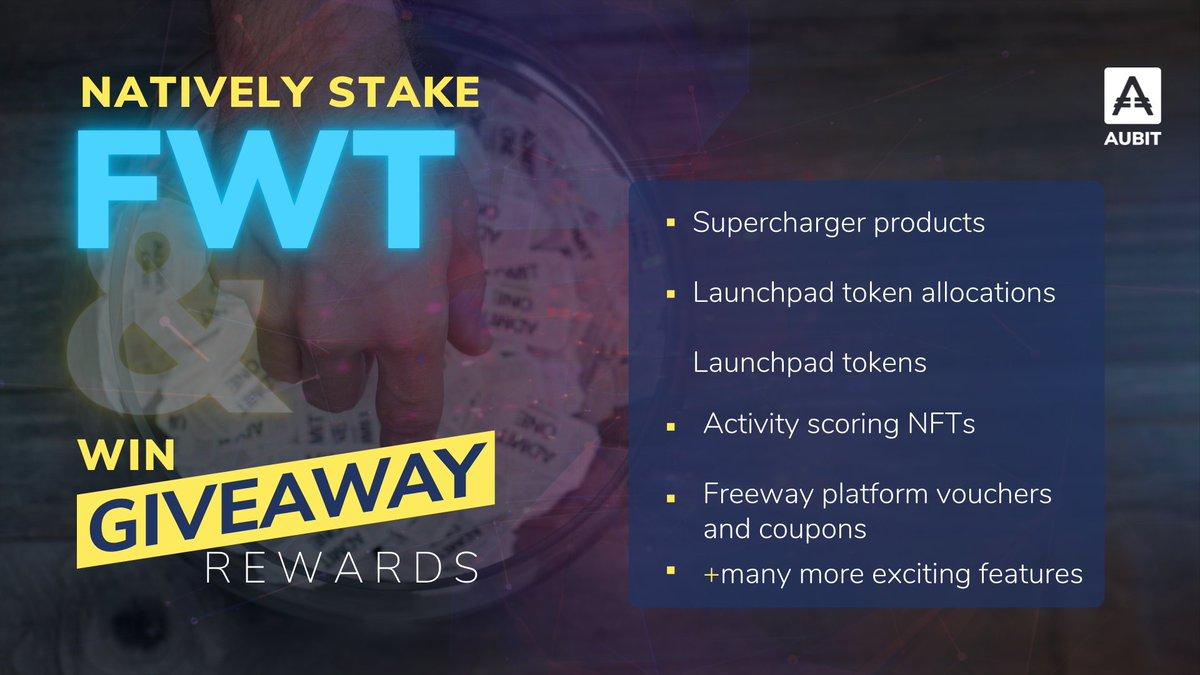 Blog Freeway Token (FWT Coin) Giveaway Rewards