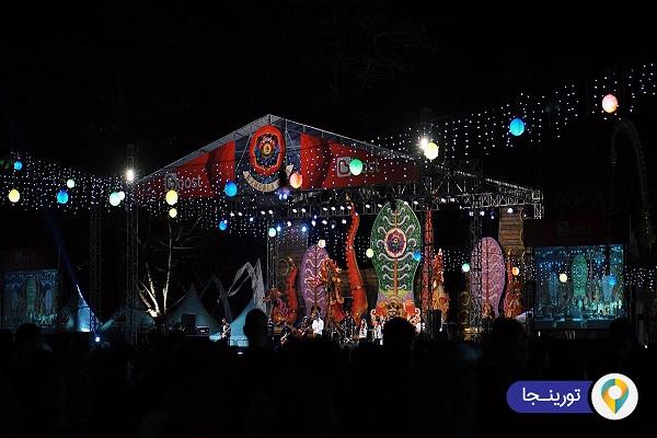 جشنواره دهکده سانور بالی