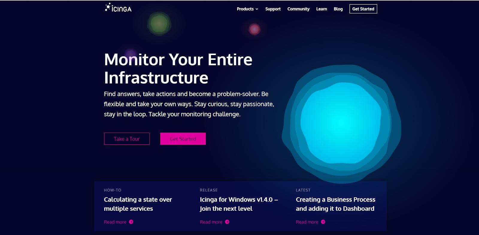Icinga Network Monitoring Tool