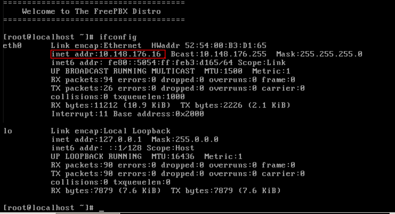 Ingatan Surya: Installing FreePBX Official Distro