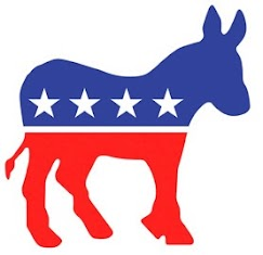 Icon of the U.S. Democratic Party, the donkey
