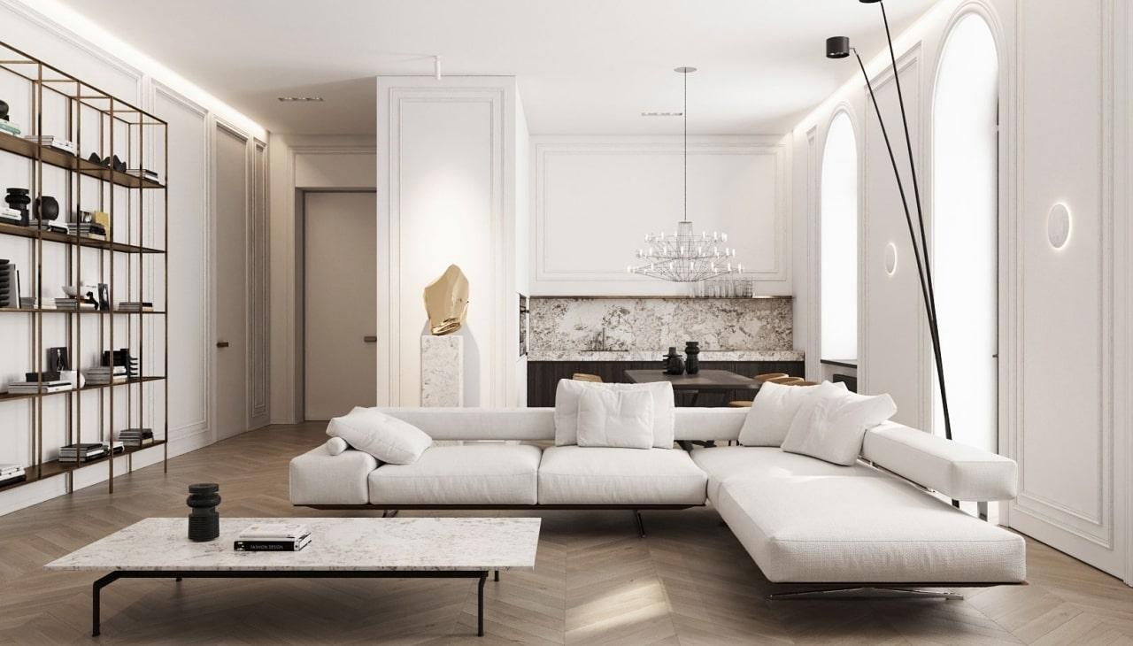 thiết kế nội thất theo xu hướng 2020