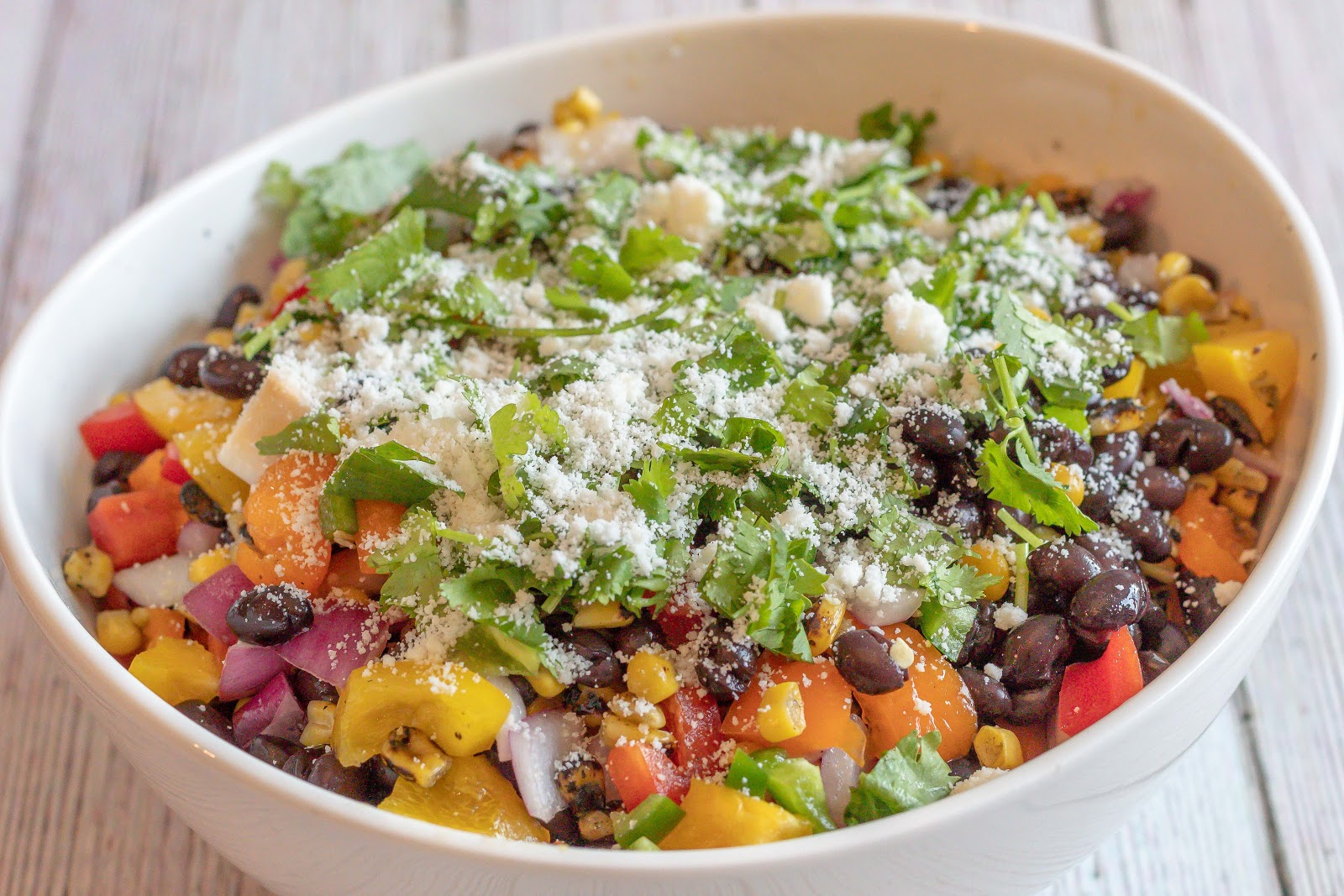 Quick Southwest Salad Patience & Pearls