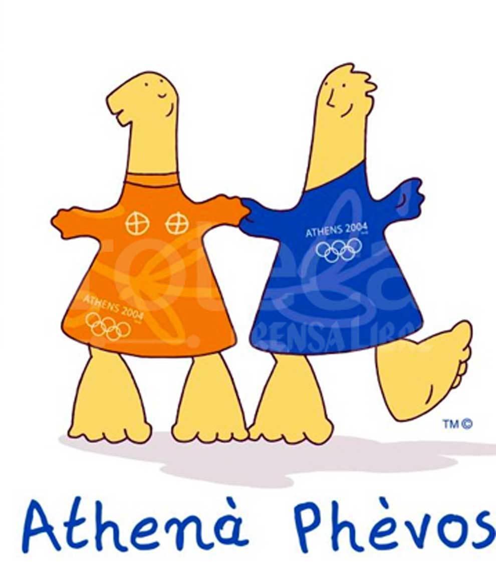 Athenà y phévos, los dos niños mascotas de los...   MARCA.com