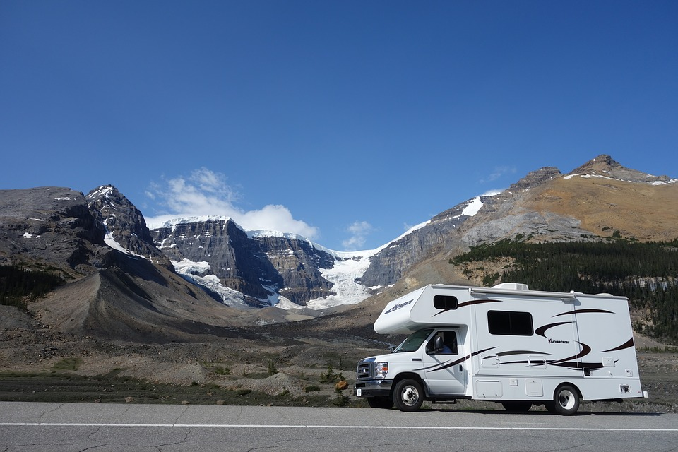 Mobile Home, Rv, Canada, British Columbia, Mountains