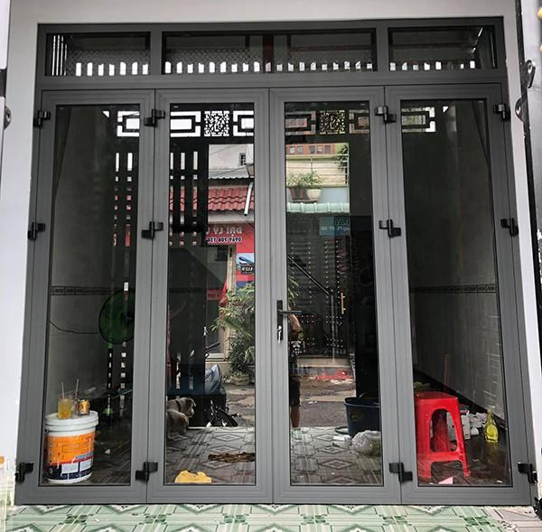 Cửa nhôm Xingfa sử dụng công nghệ ghép góc
