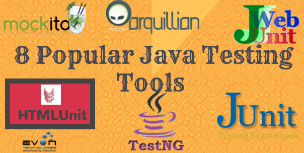 8 Useful Tools/Frameworks for Java Testing