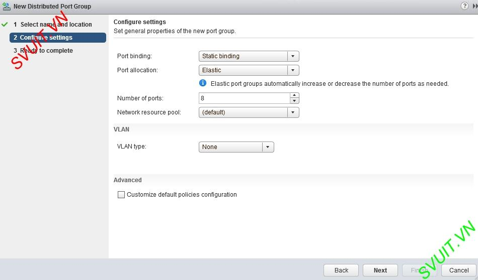 create vSphere Distributed port group (3)