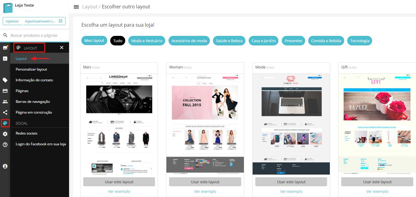 layout-nuvemshop SEO Nuvem Shop