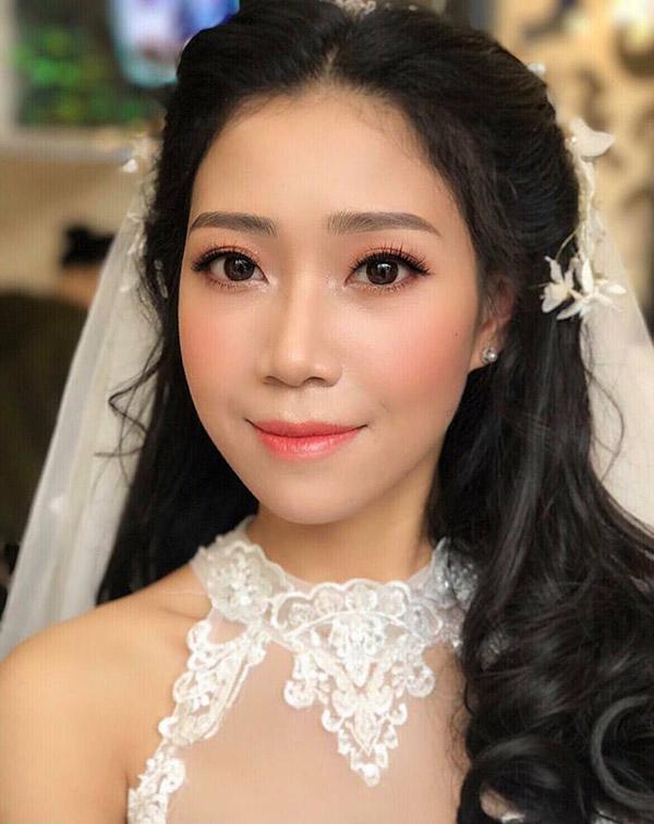 trang điểm cô dâu chụp ảnh cưới tại palatino studio