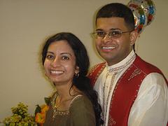Andrea and Raj