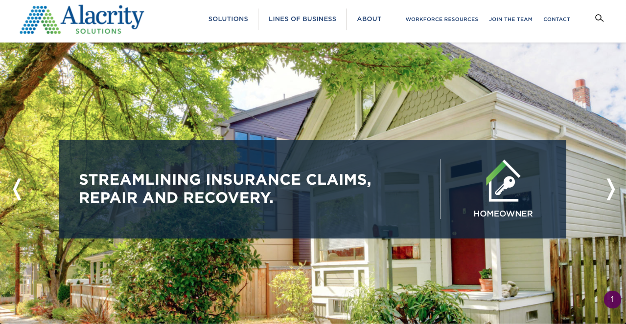 Alacrity is a TPA for insurance leads
