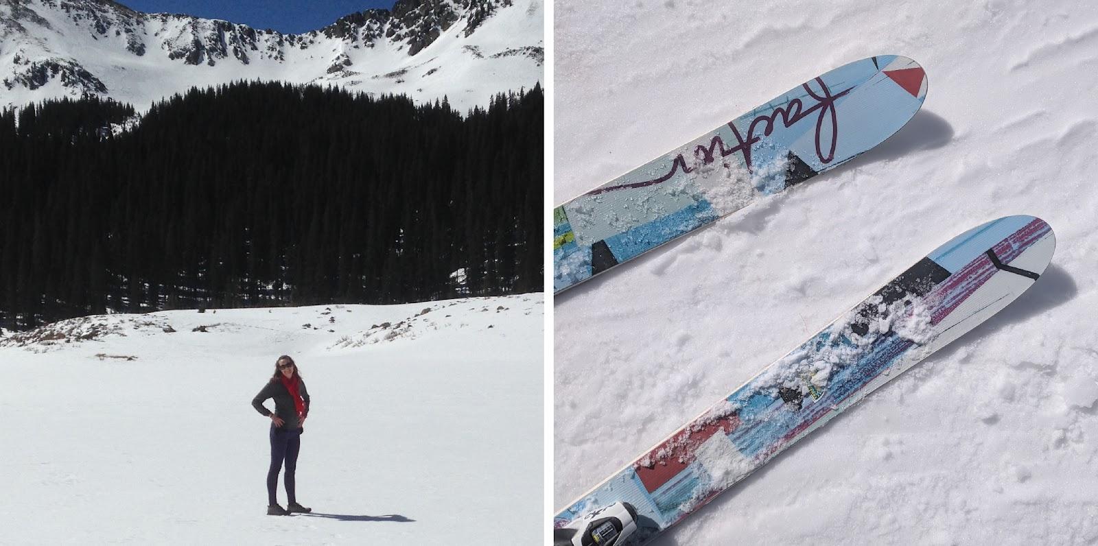 Danielle-Enjoys-Skiing
