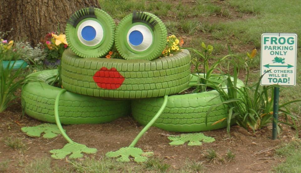 10 Fabulous Tyre Planters Ideas To DIY 1