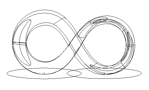 Infinity Symbol Illustration Outline