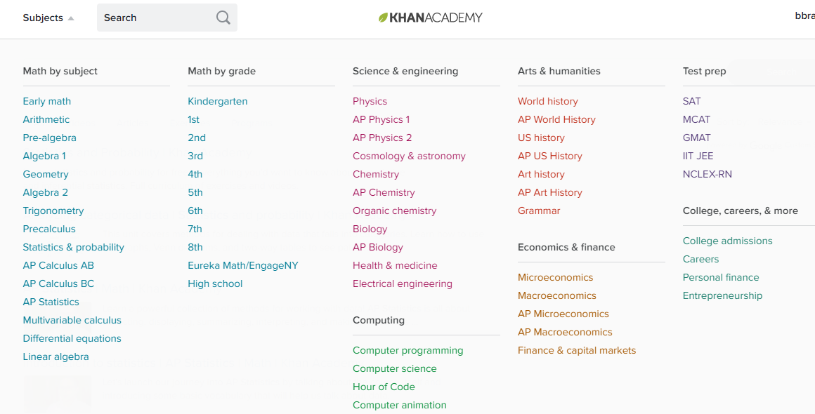 Throwback Thursday- Don't Forget to Utilize KhanAcademy