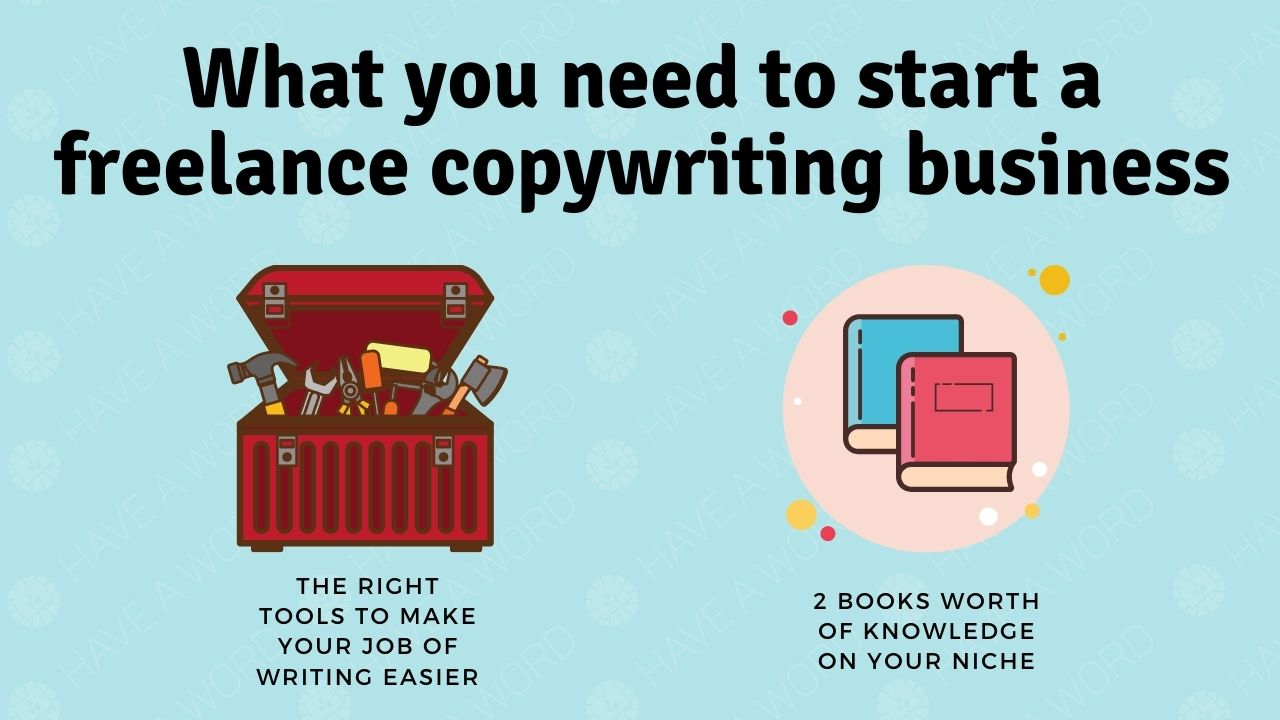 What do you need to start a freelance copywriting business