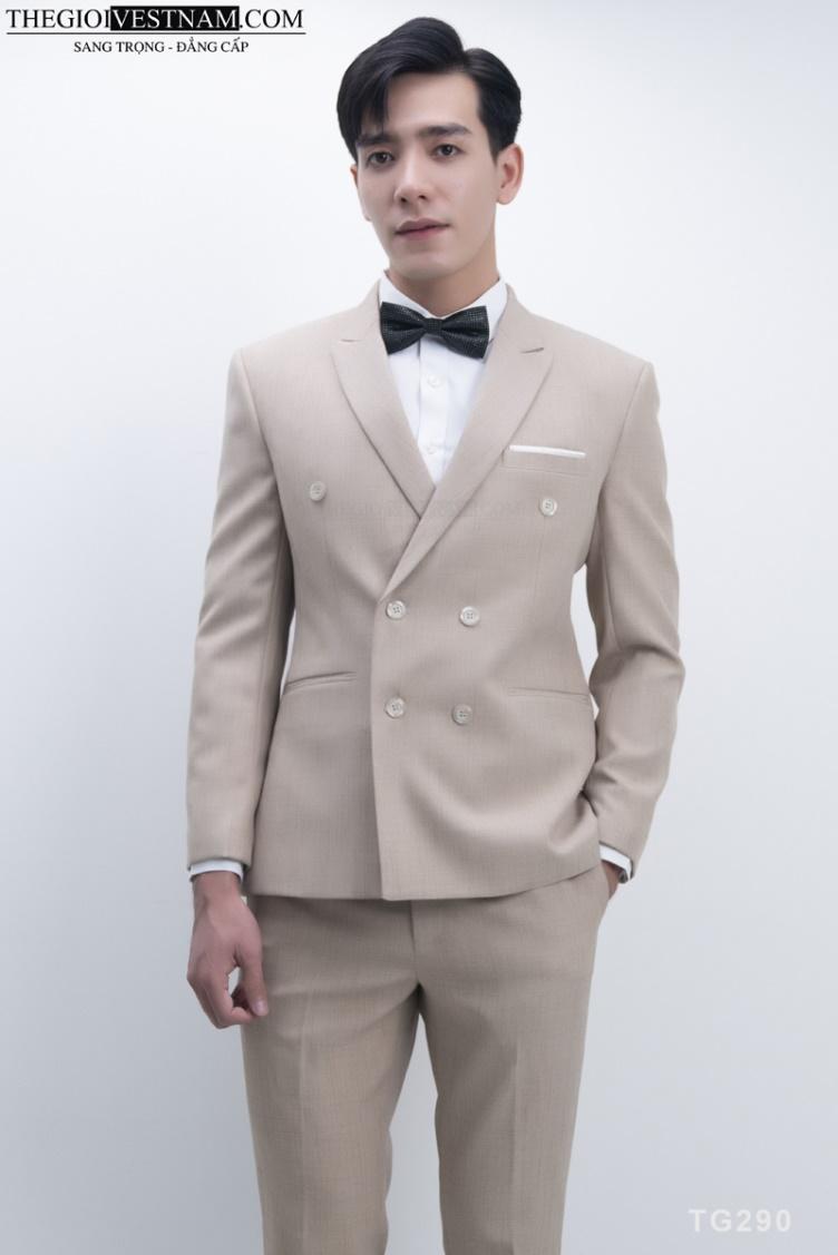 Các phong cách vest nam công sở cho quý ông