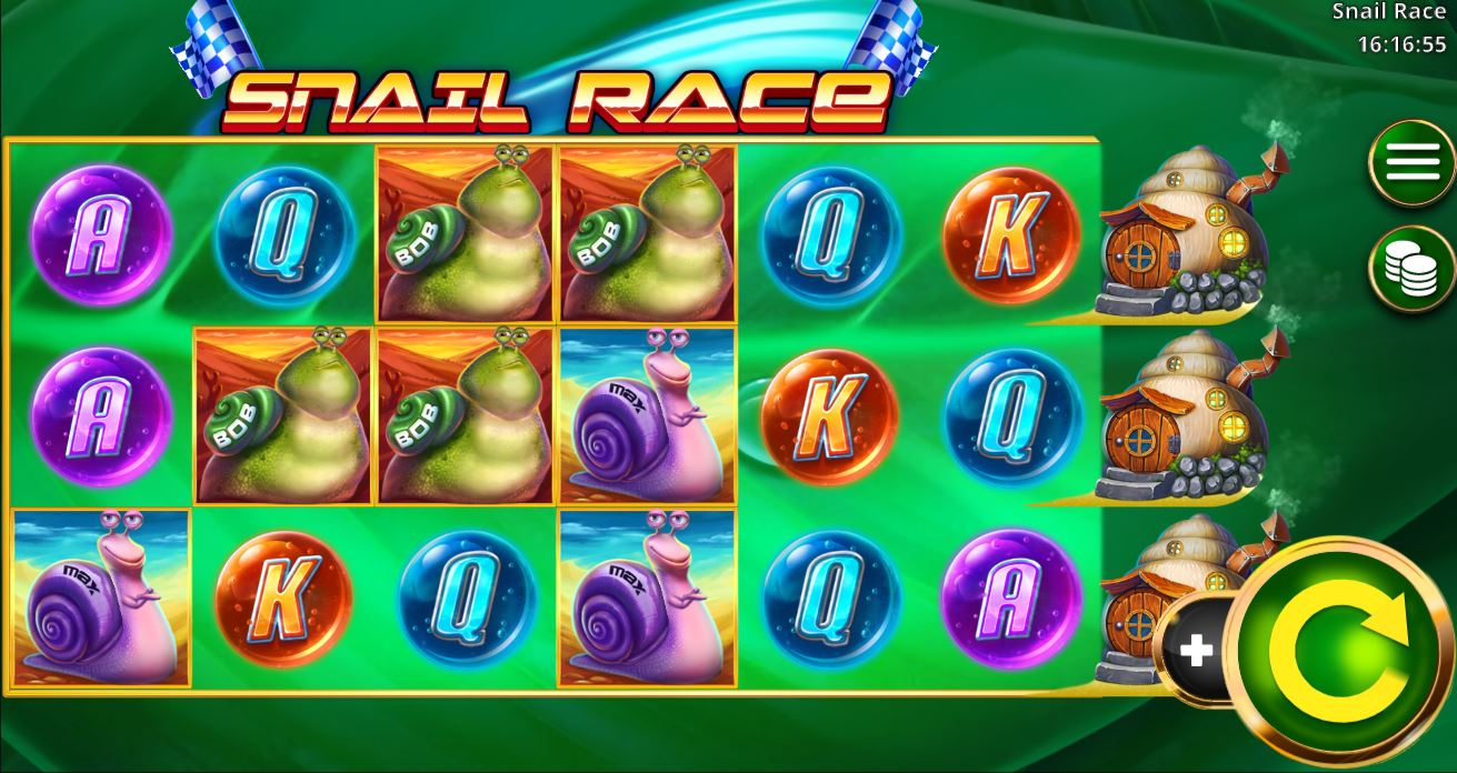 Play Snail Race by Booming Games for Real Money at Scatters Casino