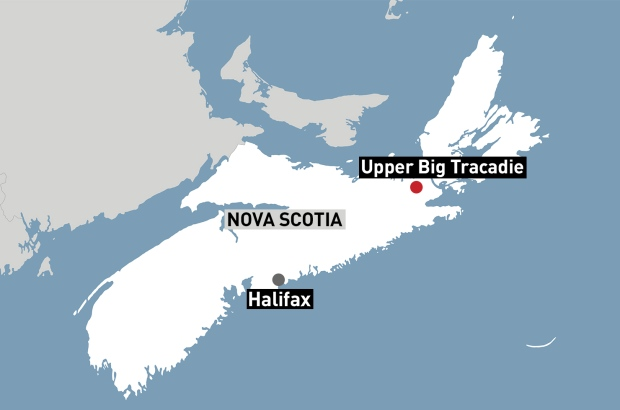 upper big tracadie