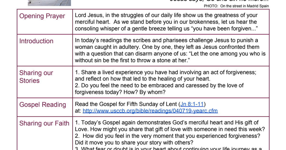 2019 Lent Week 5 Cycle C - English FINAL pdf - Google Drive