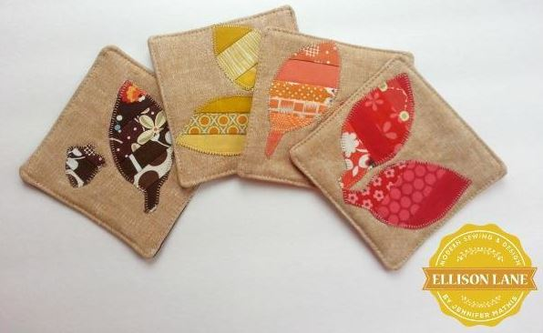 Pattern by Craftsy.com Member: Quilted Coasters