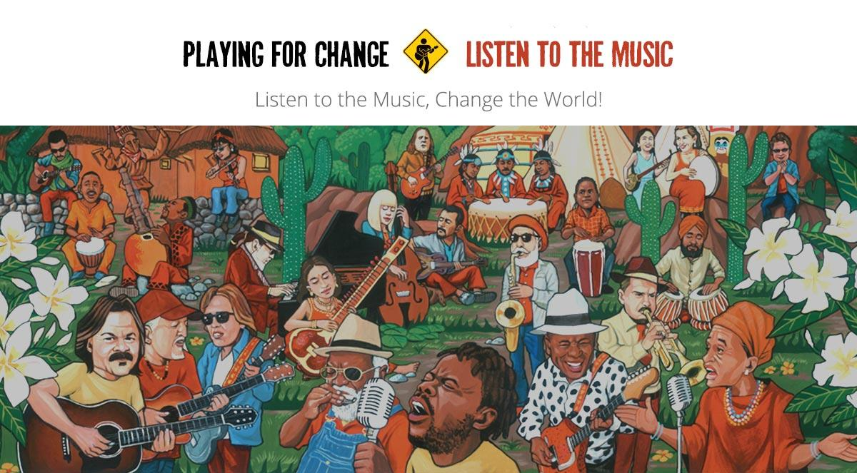 Playing for Change Foundation album cover art