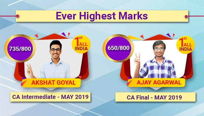 Secure Rank in the Main CA exams