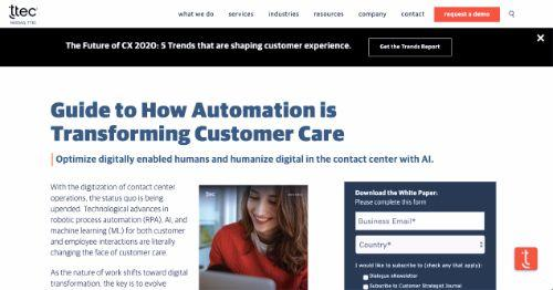 Guide to How Automation is Transforming Customer Care