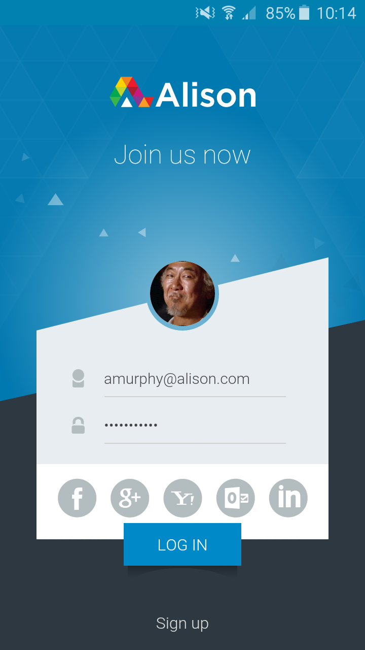 How Do I Login To The Alison Android App Alison Faqs