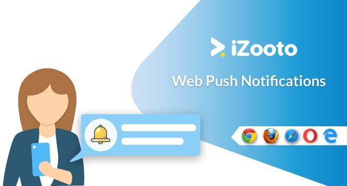 Shopify web push notifications app