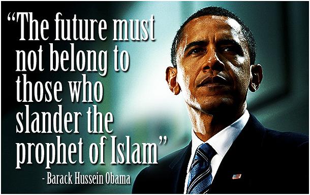 obama prophet islam slander