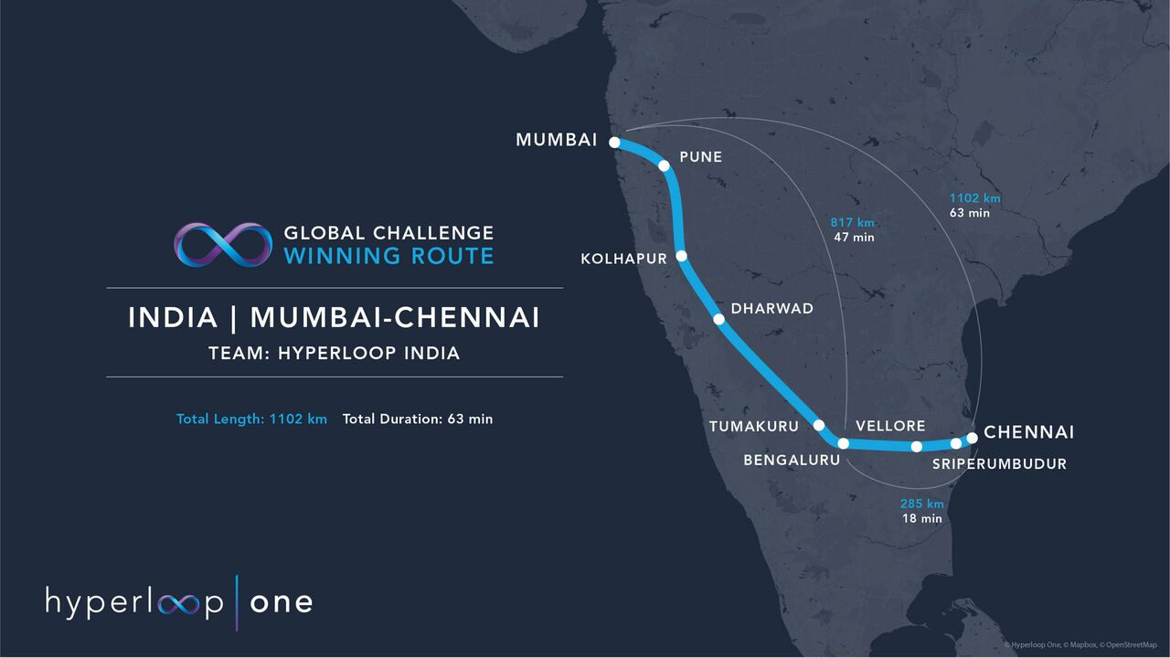 Two Hyperloop Routes Look To Address India's Overburdened Transport on india editorial, dubai map with directions, map of china with directions, world map with directions, el salvador map with directions, south america map with directions, puerto rico map with directions, india map history, india calendar, iraq map with directions, india map map, india home, united states map with directions,